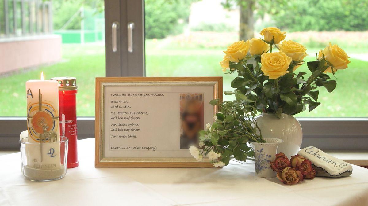 Schule gedenkt toten Jungen aus Nordendorf