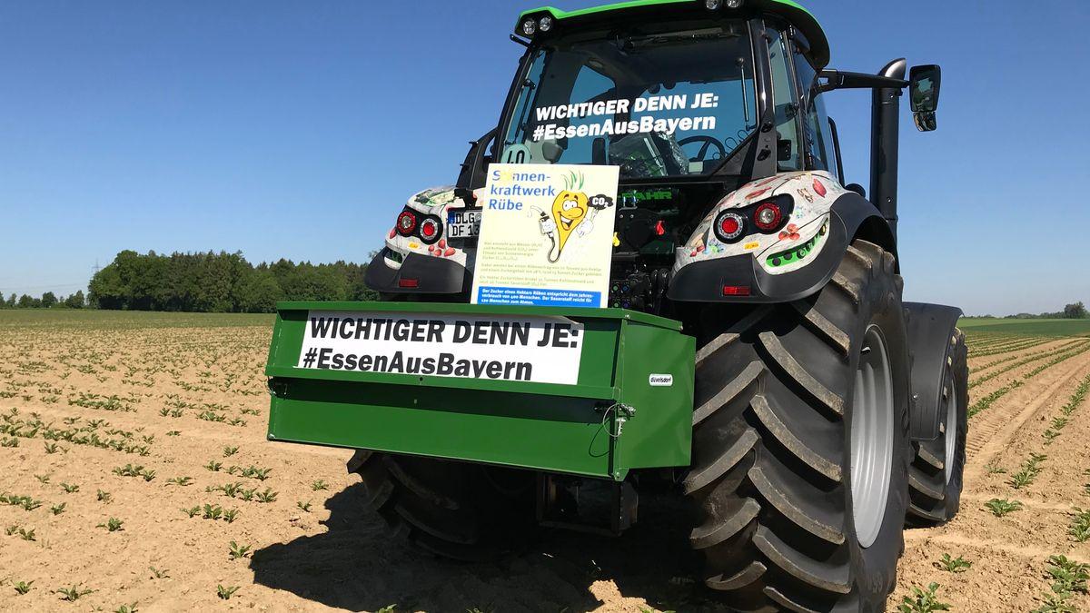 Mit der Werbetour will der Bauernverband die Wertschätzung für den Beruf stärken