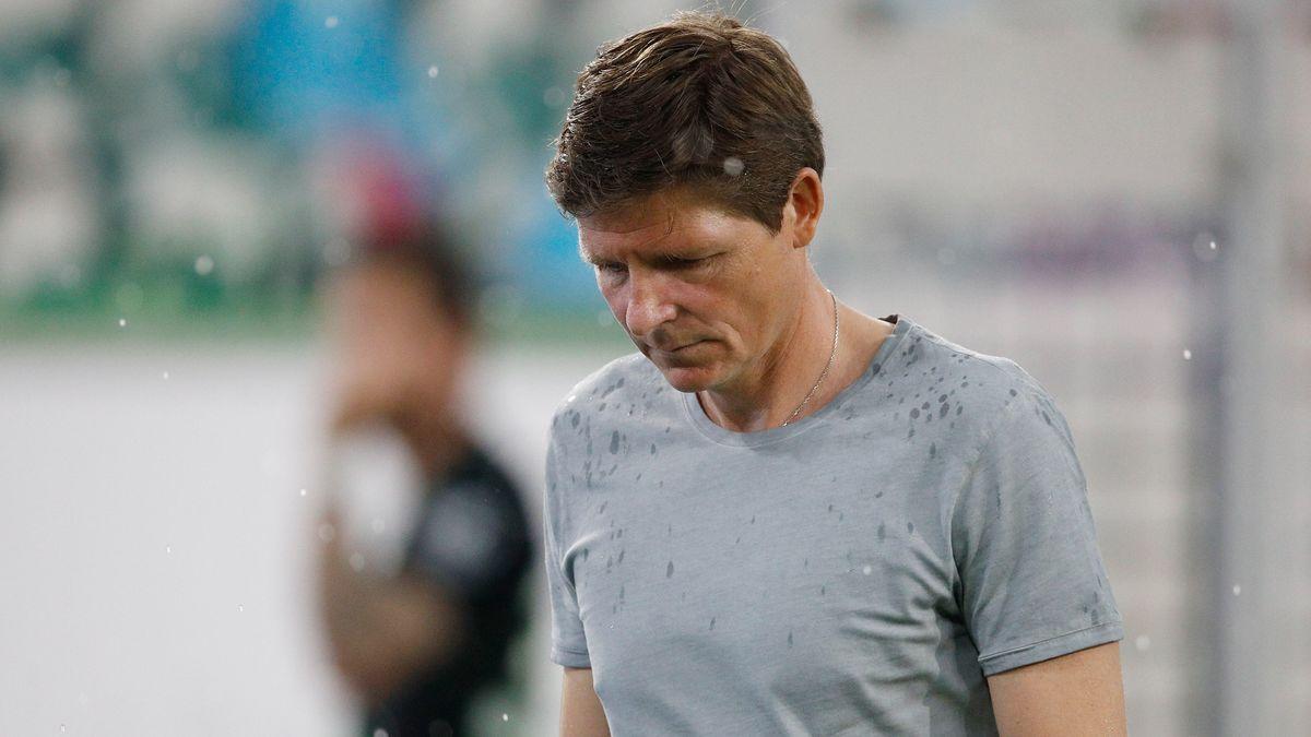 Wolfburgs Trainer Oliver Glasner