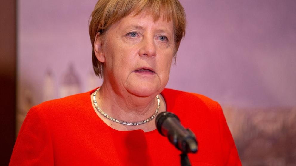 Bundeskanzlerin Angela Merkel   Bild:dpa-Bildfunk