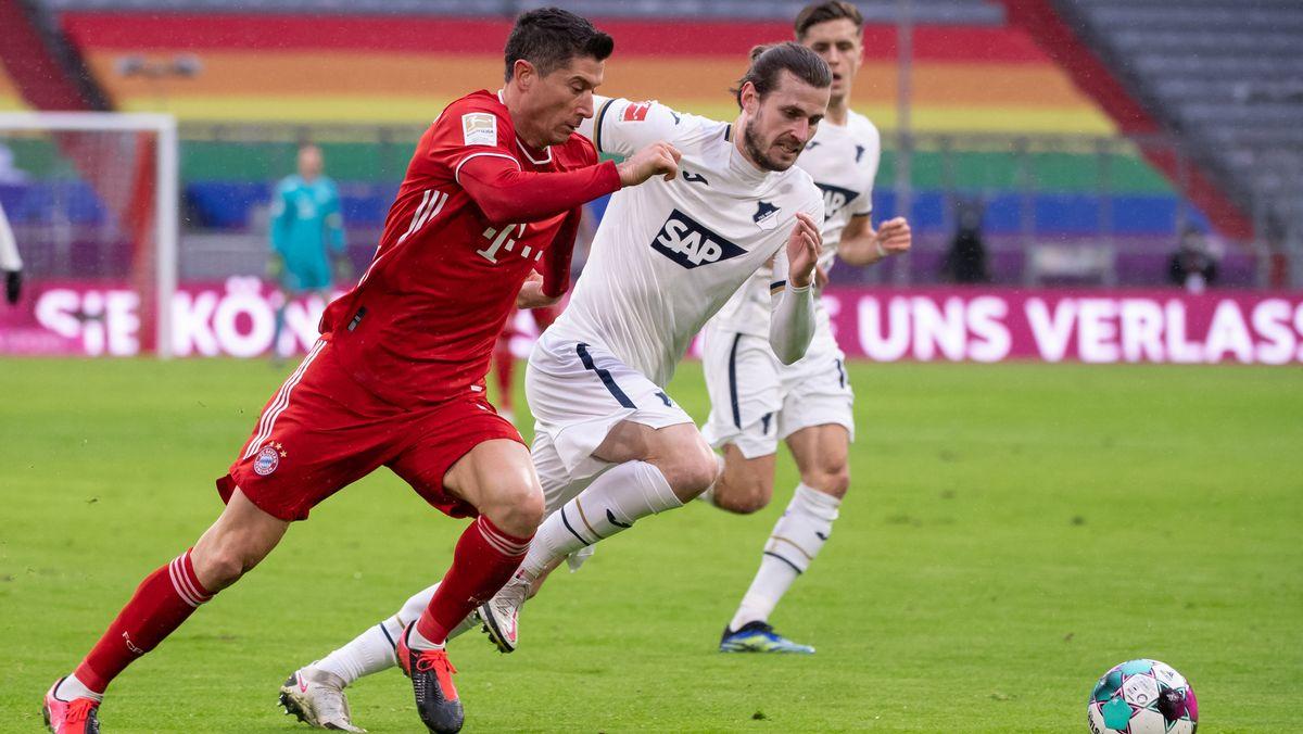 Spielszene FC Bayern - TSG 1899 Hoffenheim