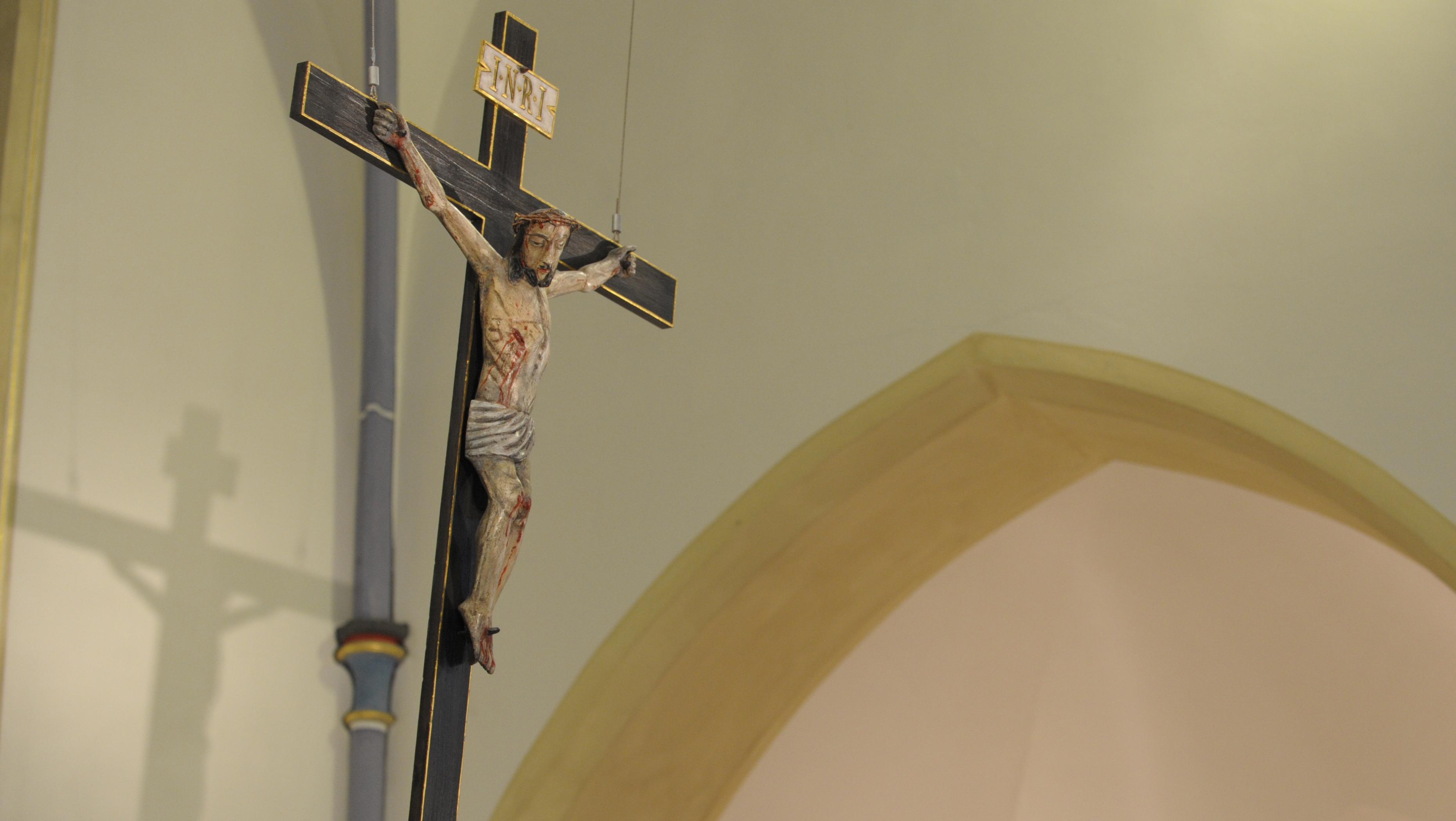Kreuz in Kirche (Symbolbild)