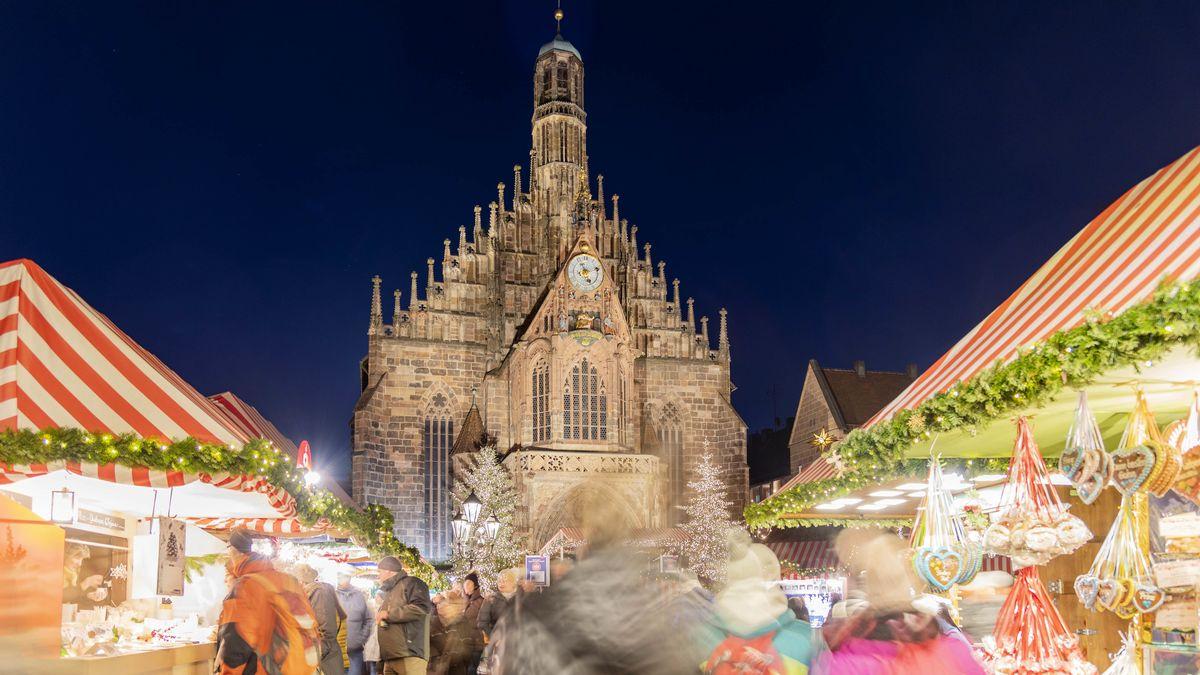 Nürnberger Christkindlesmarkt im Jahr 2019.