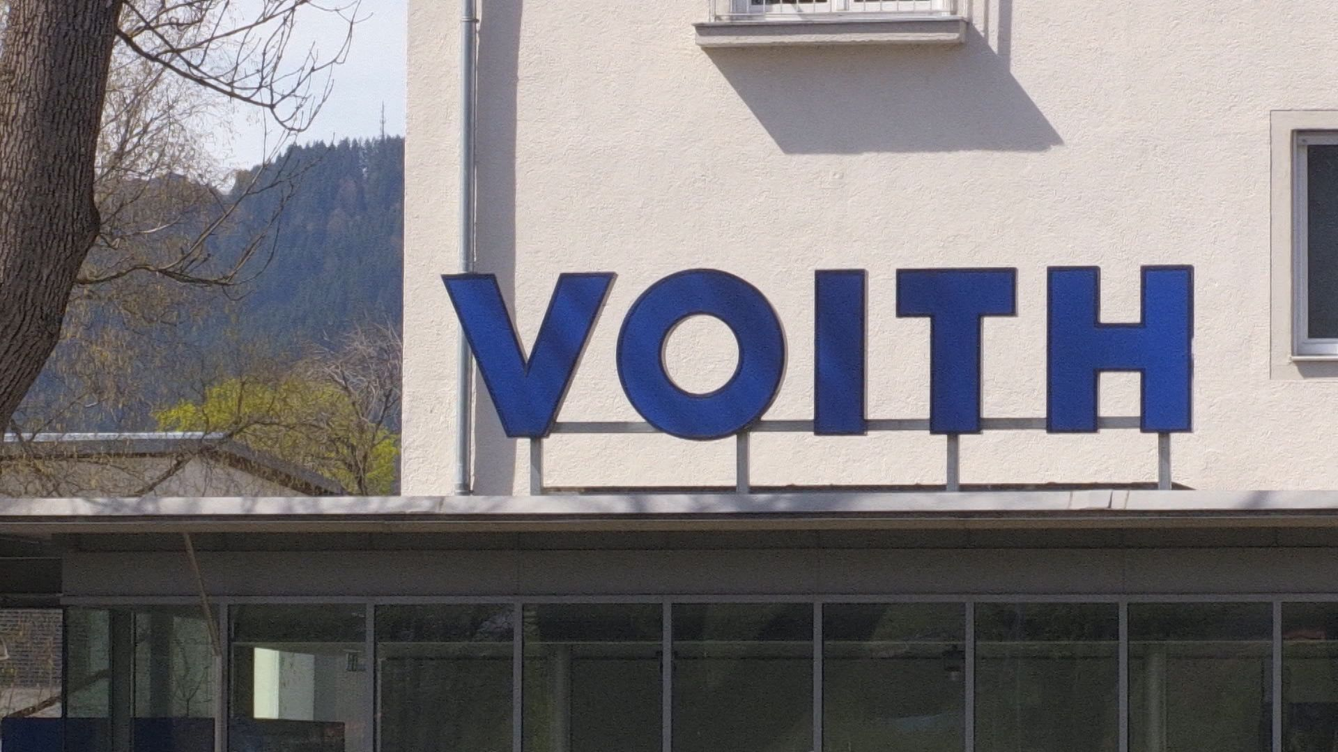 "Firmenlogo ""Voith"""