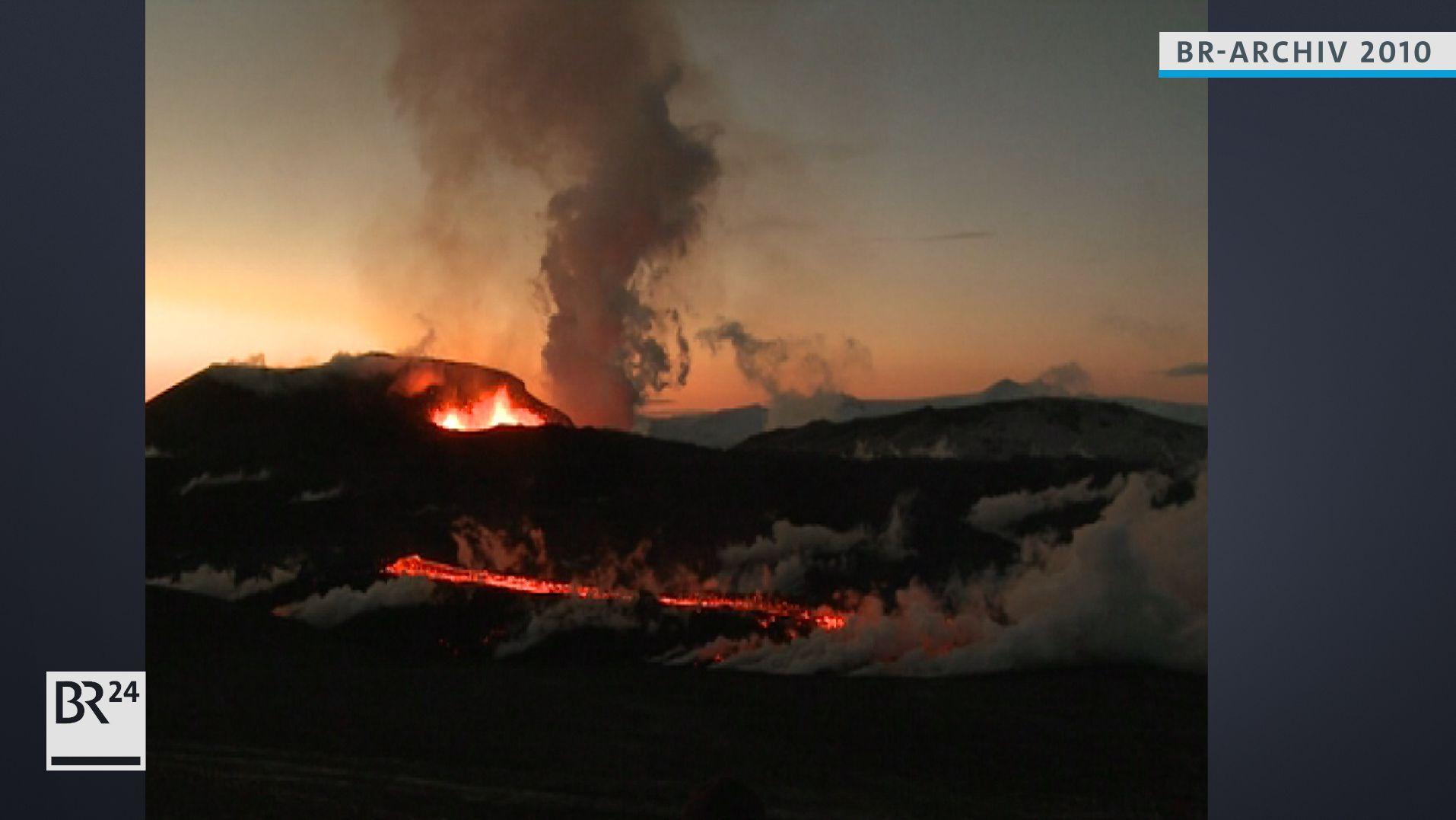Ausbruch von Eyjafjallajökull