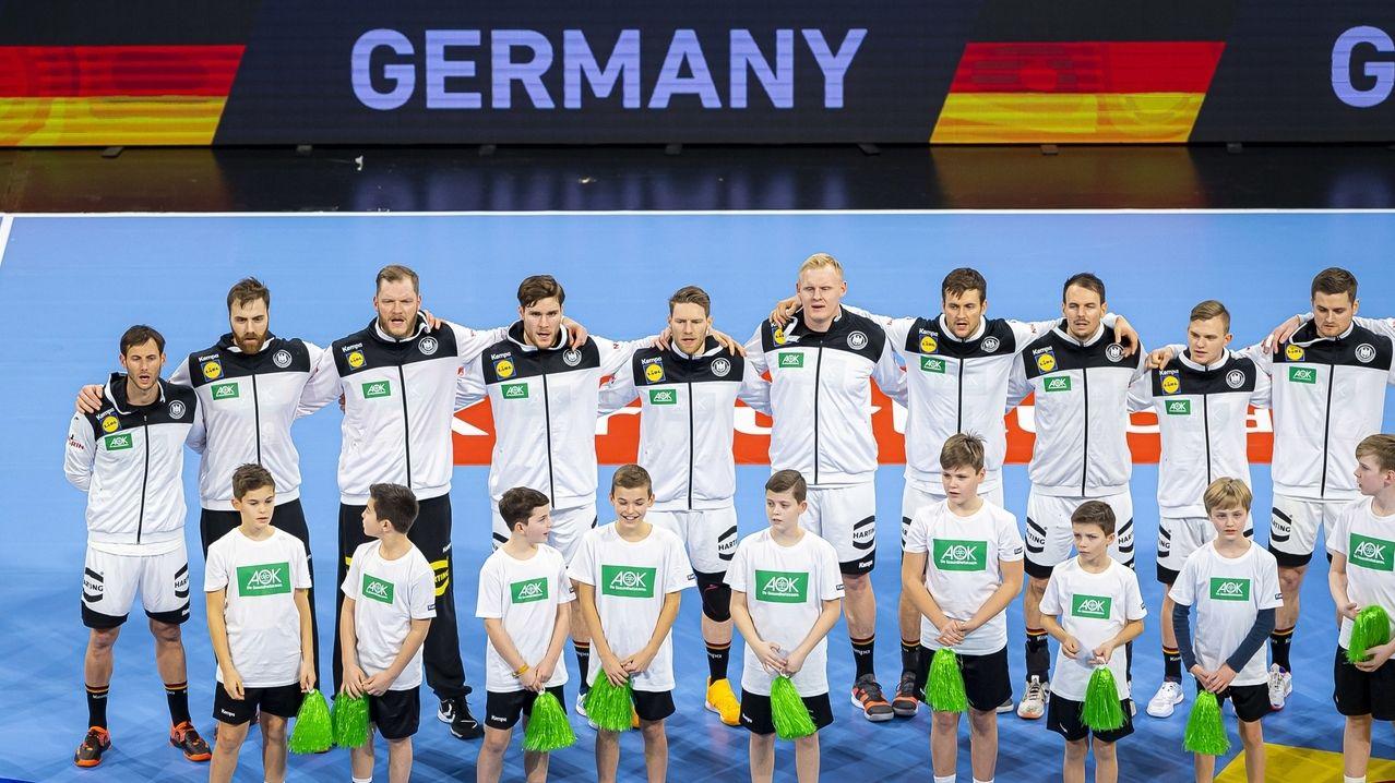 Die deutschen Handballer peilen bei der EM eine Medaille an