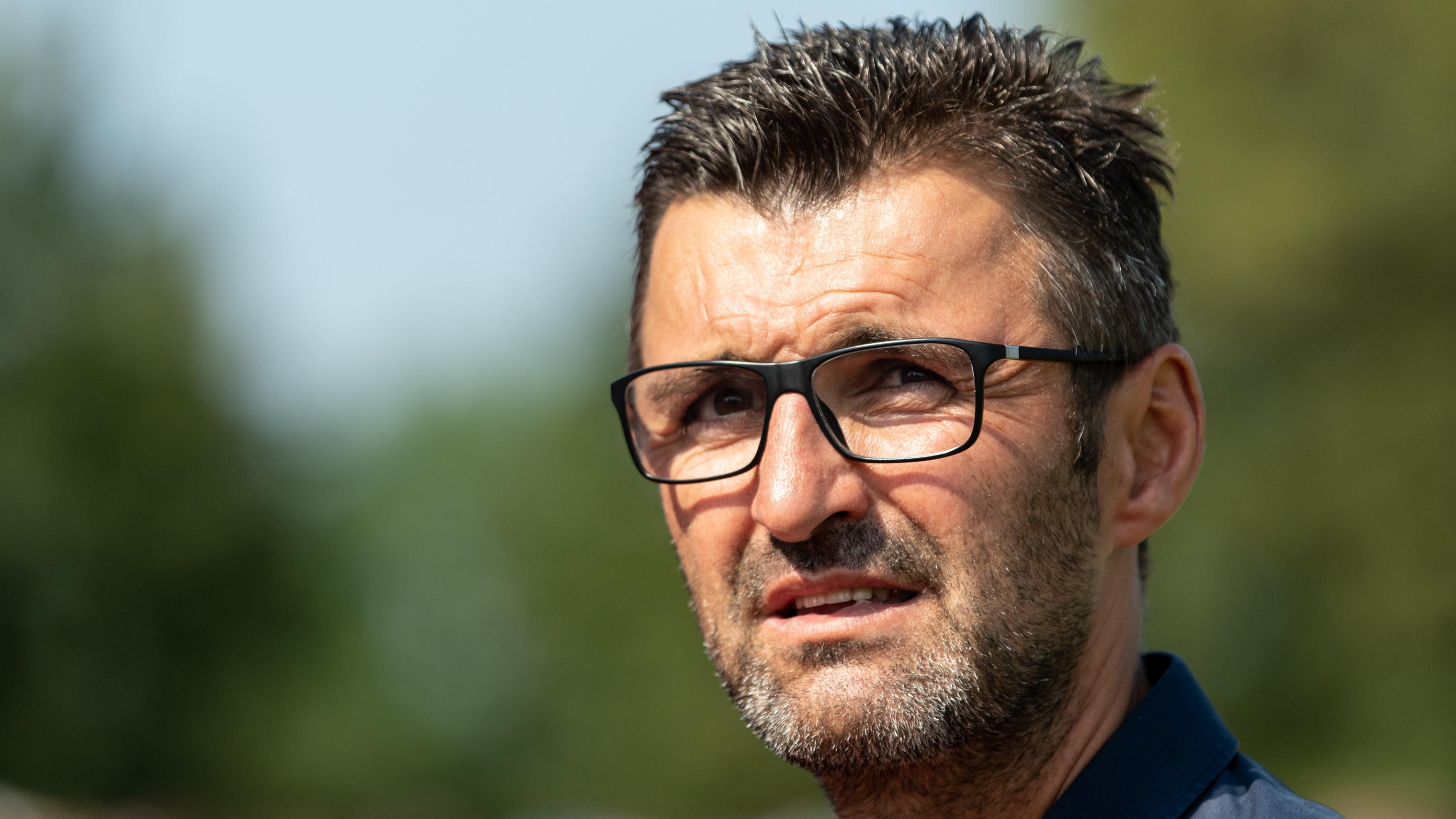 Club-Trainer Michael Köllner