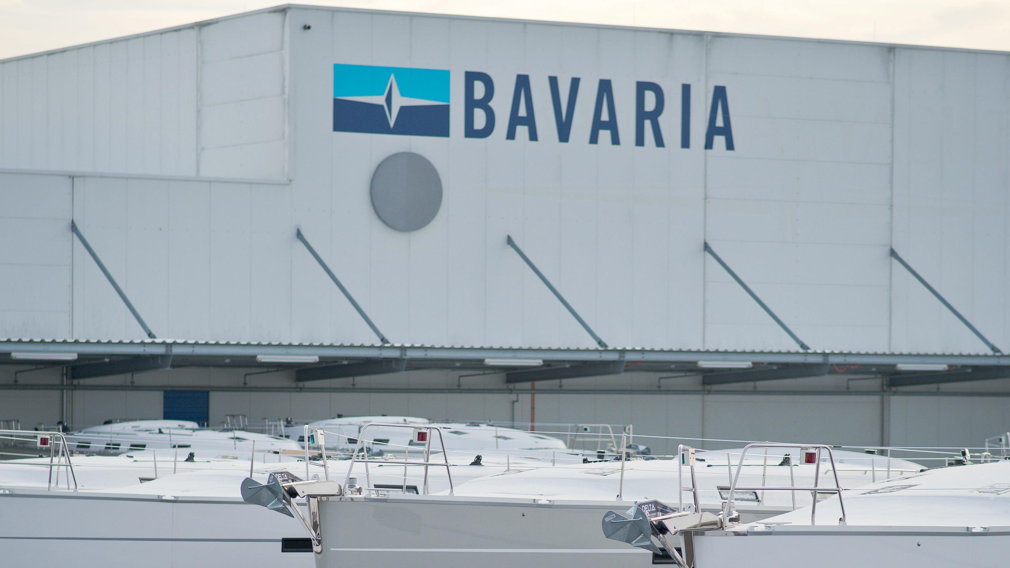 """Firmengelände von """"Bavaria Yachtbau"""""""