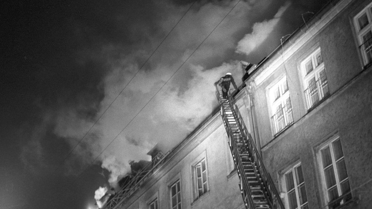 Brandanschlag auf jüdisches Altenheim 1970