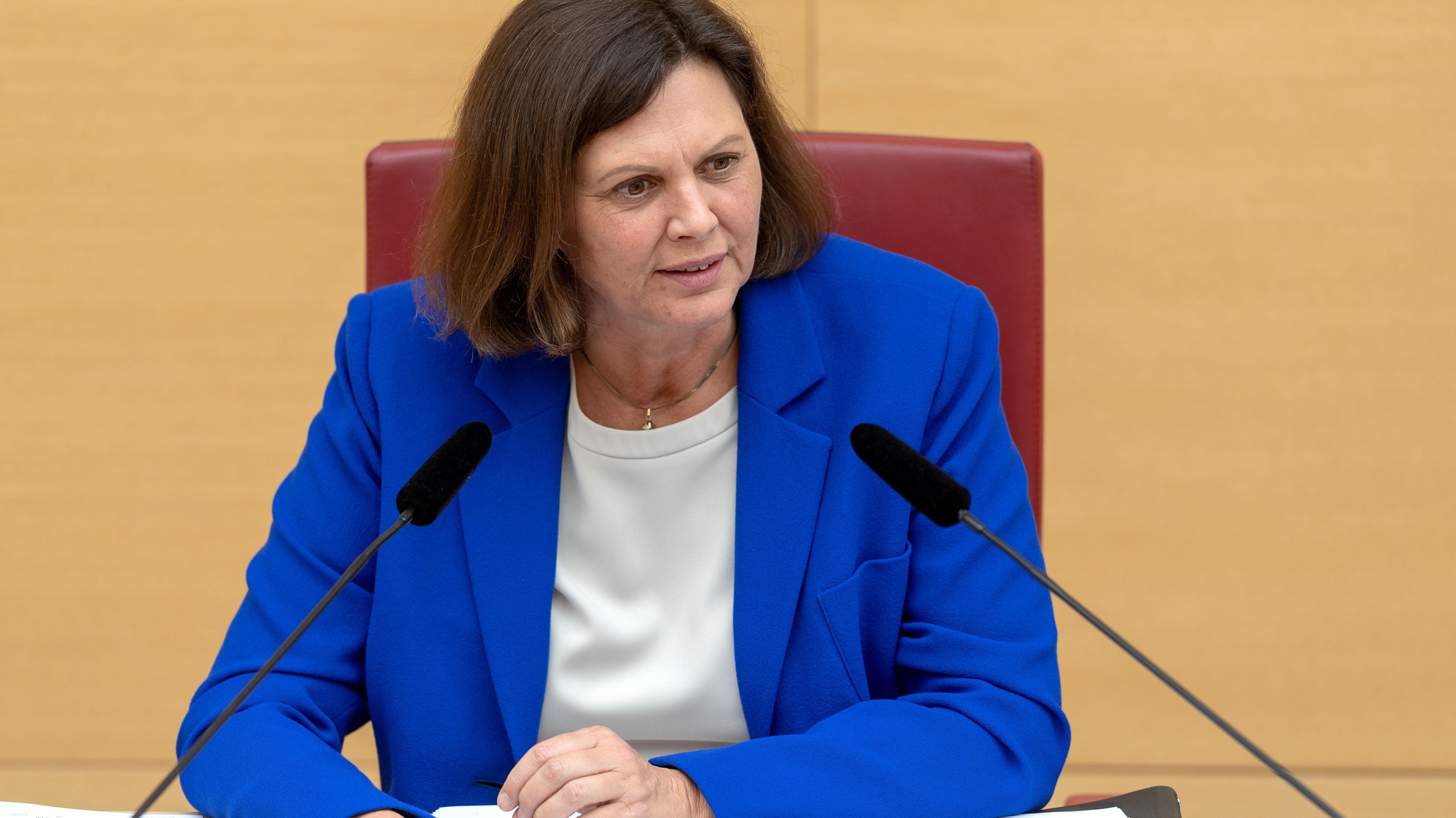 Bayerns Landtagspräsidentin Ilse Aigner (CSU)