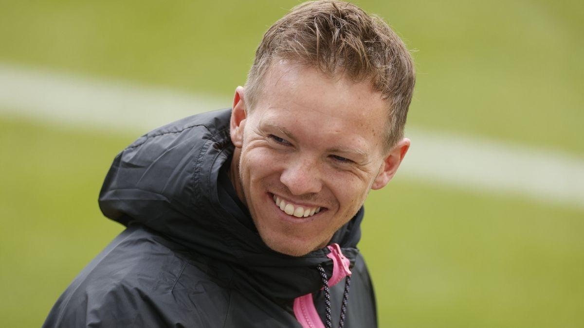 Leipzigs Trainer Julian Nagelsmann.