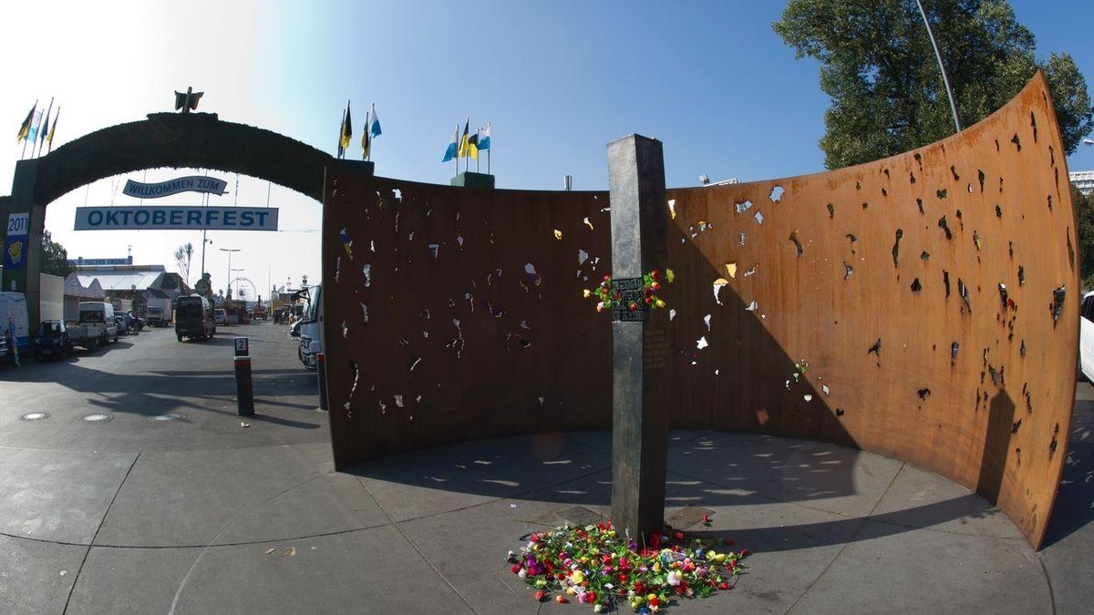 Mahnmal für die Opfer des Okoberfest-Attentats