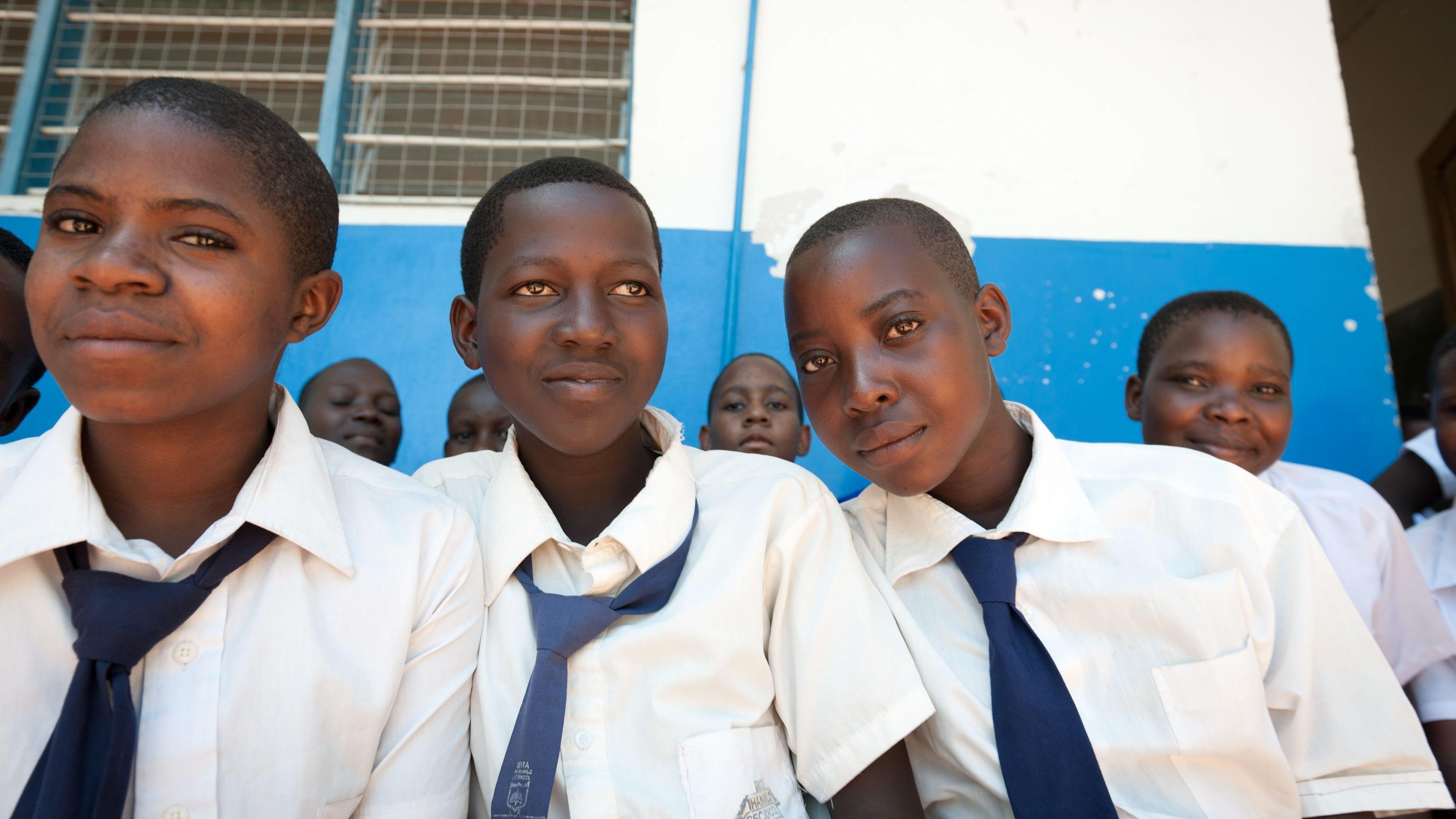 Mädchen einer Schule in Tansania (Symbolbild)