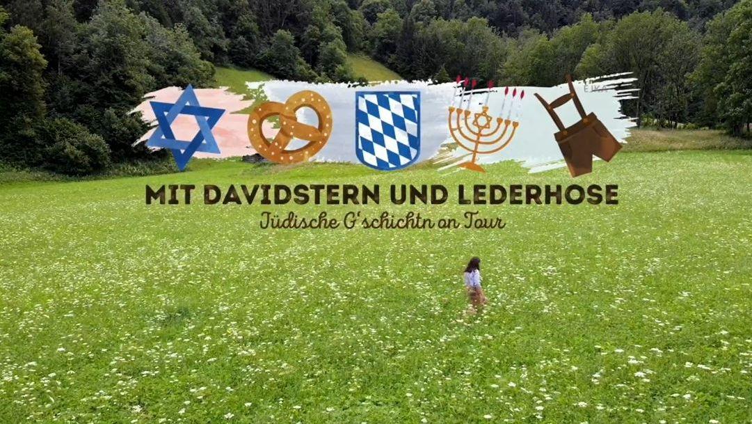 """""""Mit Davidstern und Lederhose"""", die aktuelle Wanderausstellung der  Janusz Korczak Akademie."""