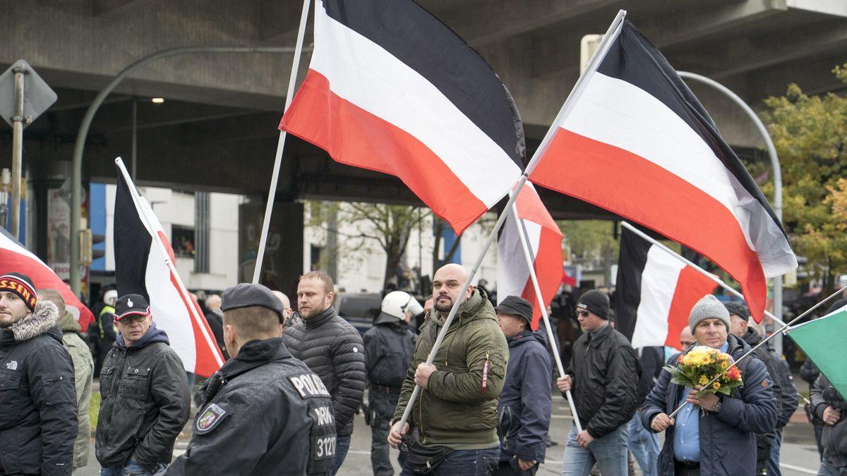 """Kundgebung der Neonazi-Partei """"Die Rechte"""" (Archivbild)"""