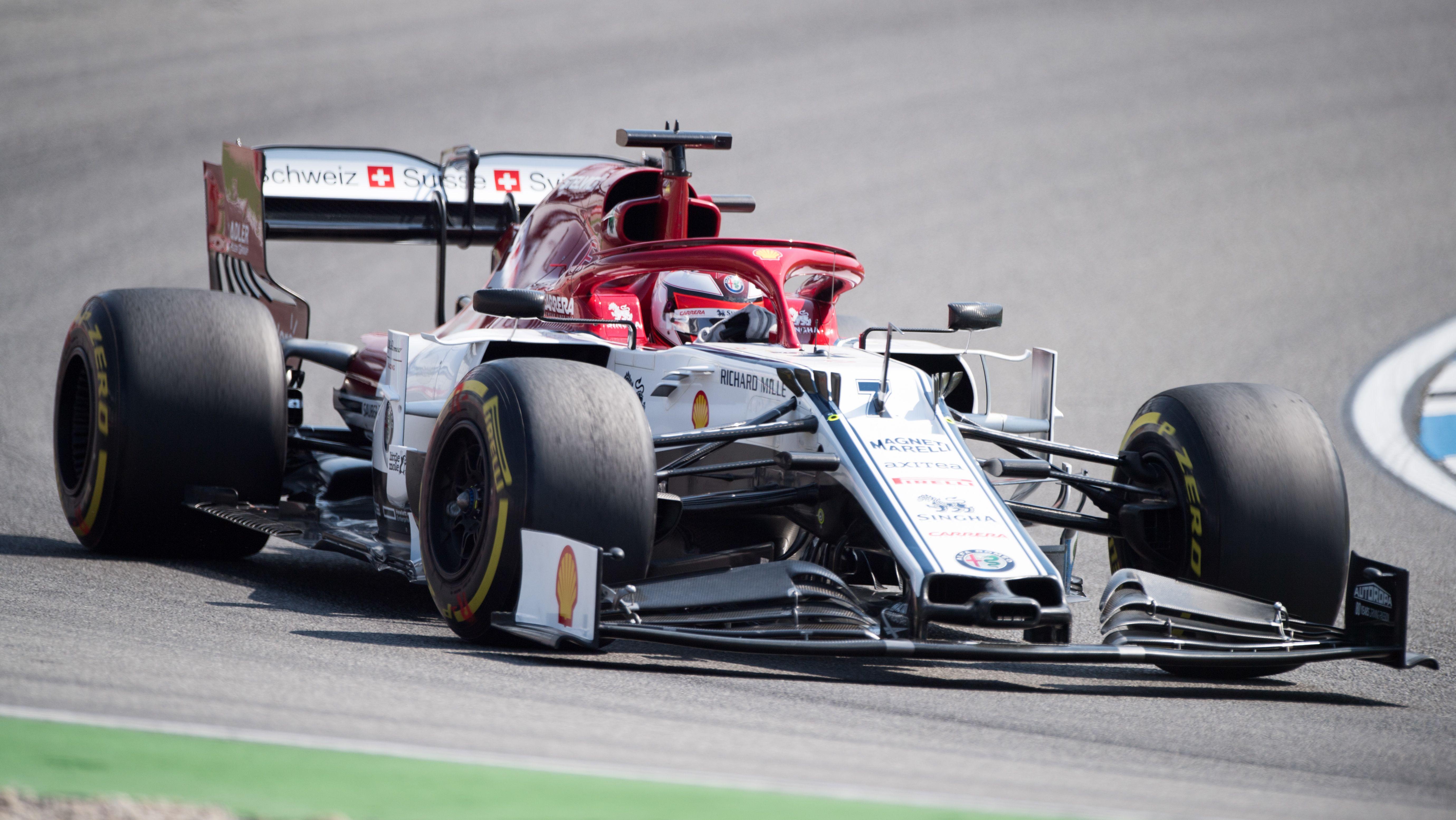 Kimi Räikkönen beim GP von Deutschland 2019