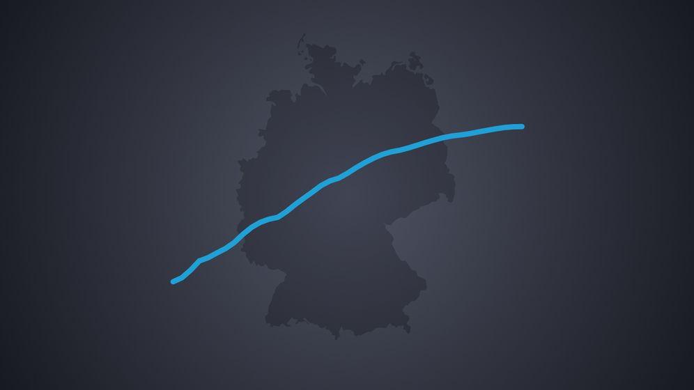 Symbolbild für Entwicklung der Corona-Fälle in Deutschland   Bild:BR