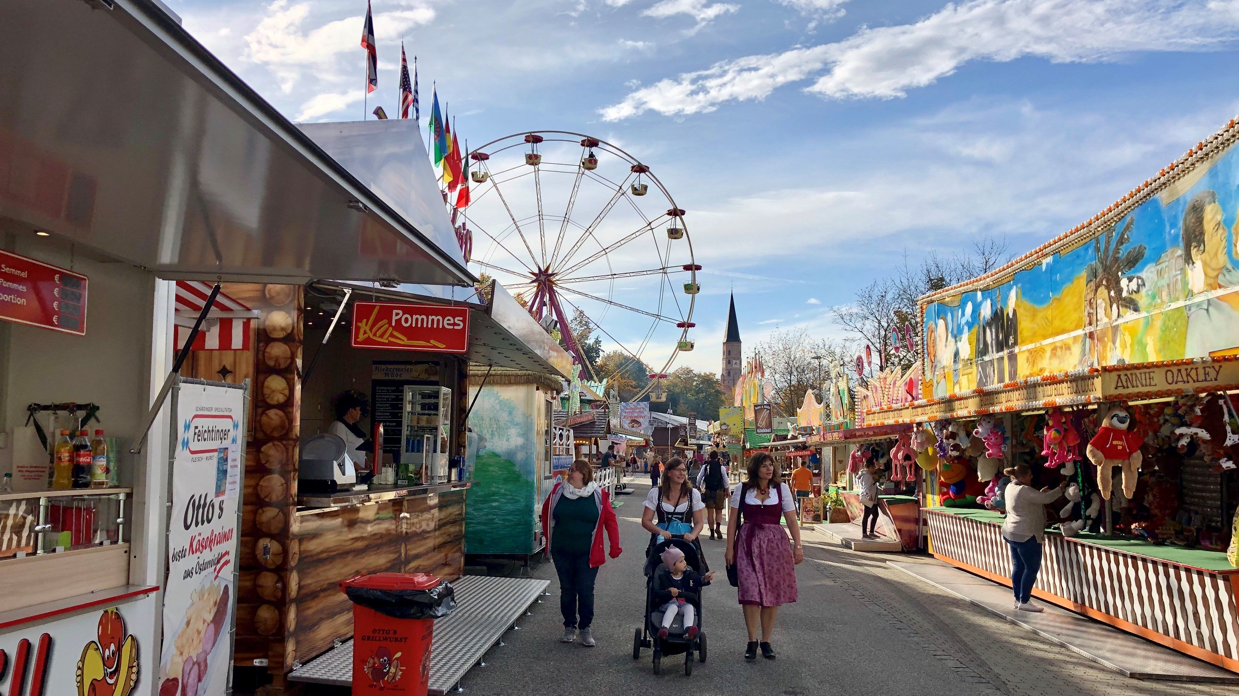Bayerns letztes Volksfest: Dingolfinger Kirta startet
