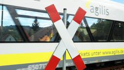 Zug der Regionalbahn Agilis   Bild:picture alliance / dpa