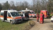 BRK-Wasserwacht bei ihrem Einsatz   Bild:BRK-Berchtesgadener Land