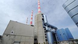 Symbolbild für den Energiegipfel: Das Kraftwerk in Irsching bei Vohburg an der Donau. | Bild:dpa/picture-alliance / Tobias Hase