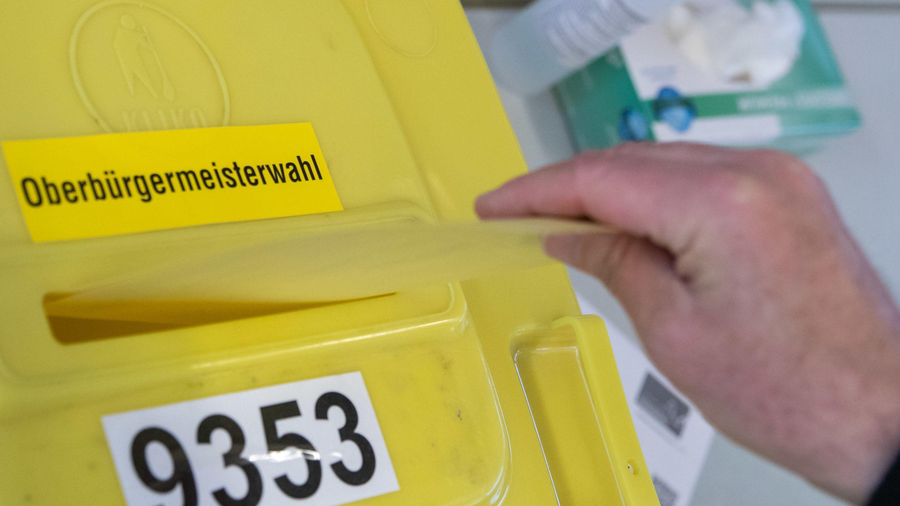 Wahlurne in Nürnberg
