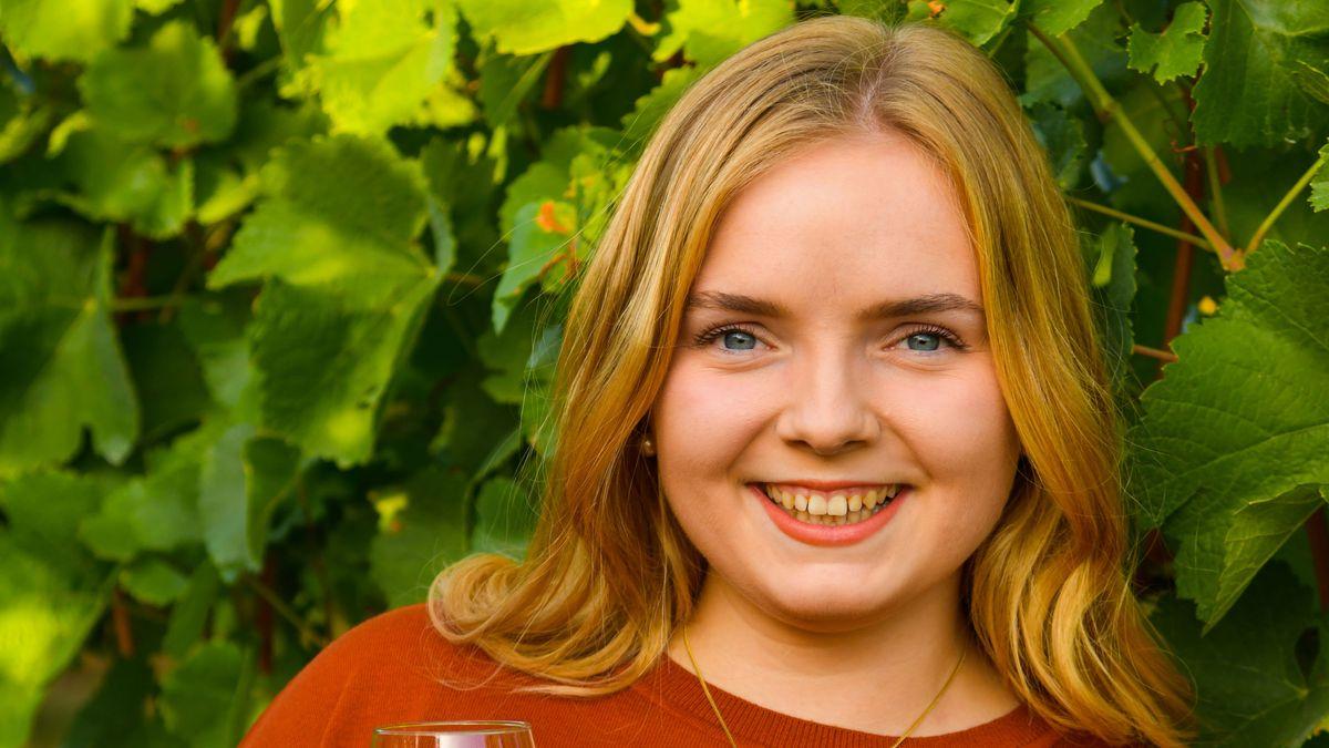 Katharina Schmidt will Fränkische Weinkönigin werden