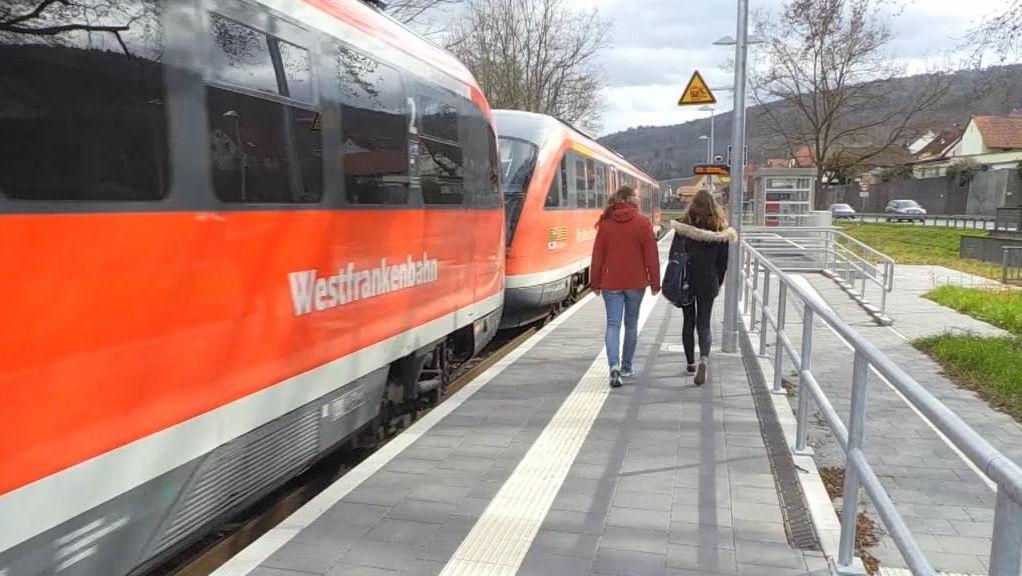 Pilotprojekt mit Bodycams für Zugbegleiter der Westfrankenbahn