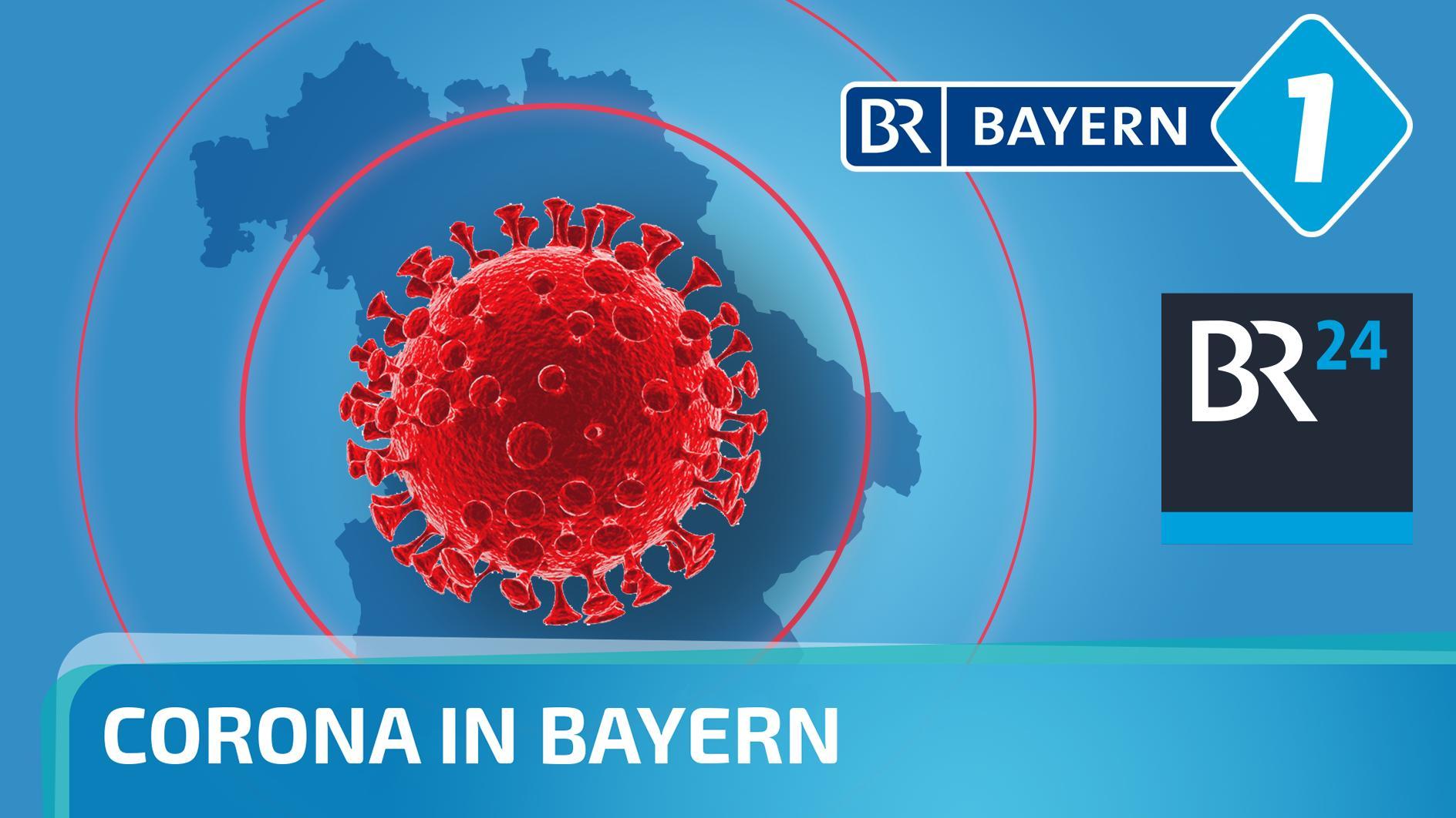 "Podcastcover ""Corona in Bayern"""
