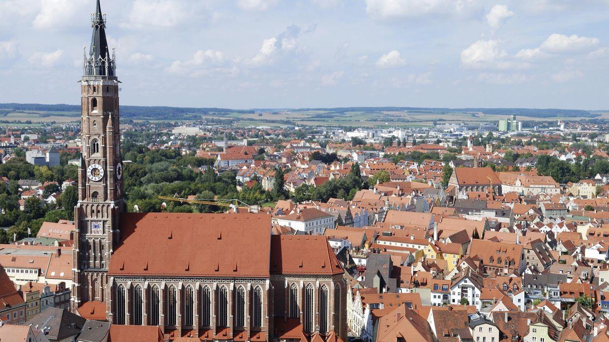 Stadtansicht Landshut