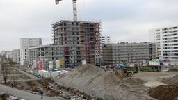 Wohnungsbau in München   Bild:dpa/Markus C. Hurek