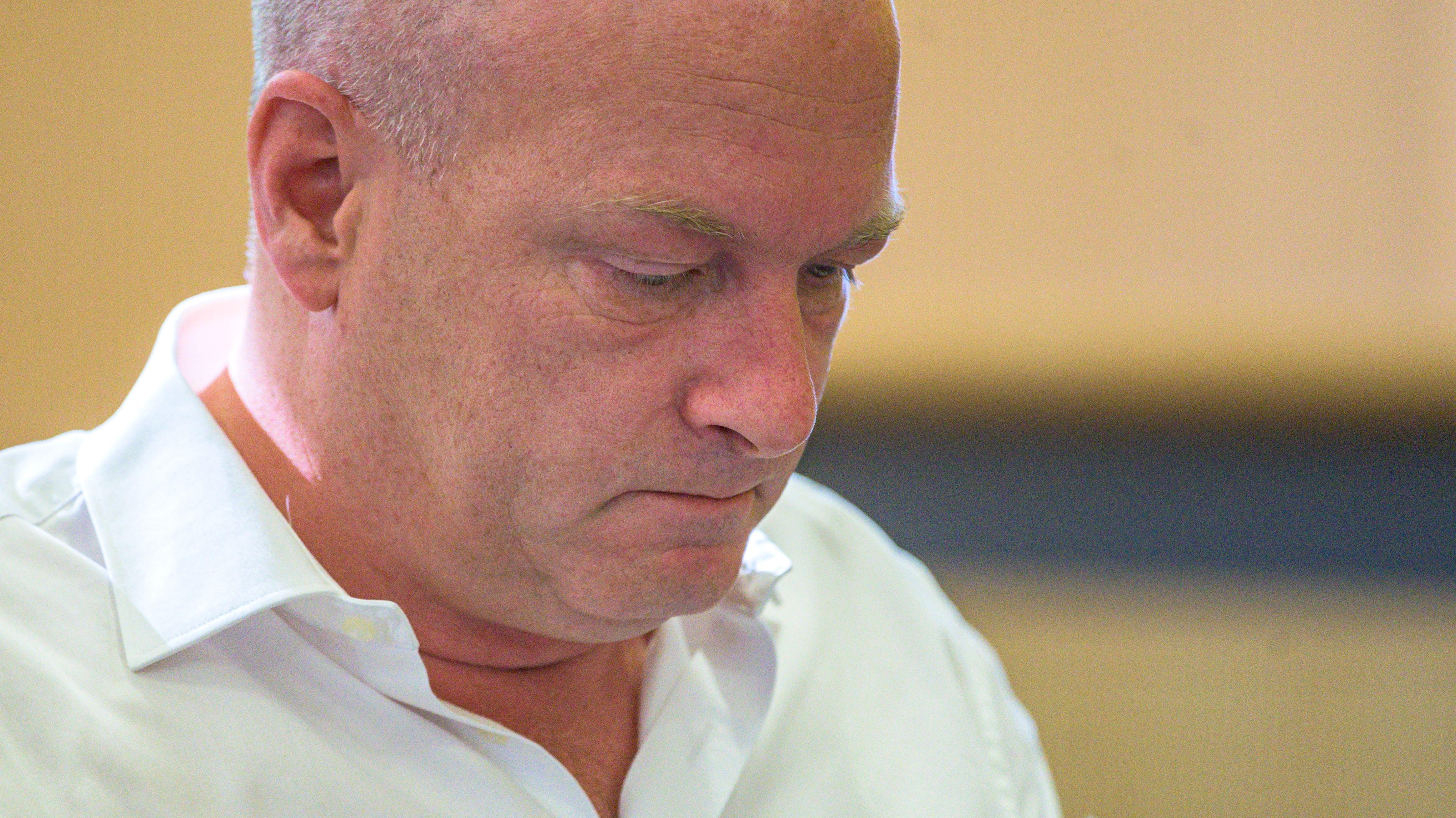 Der suspendierte Regensburger OB Joachim Wolbergs (ehem. SPD)