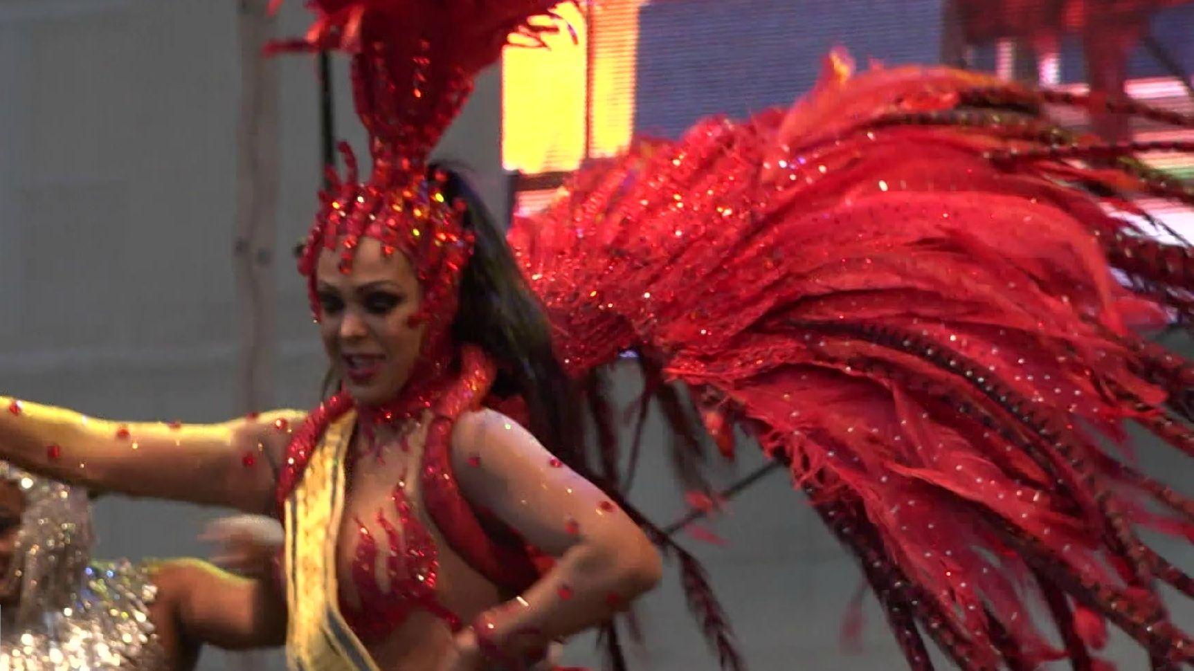 Auf dem Samba-Festival in Coburg