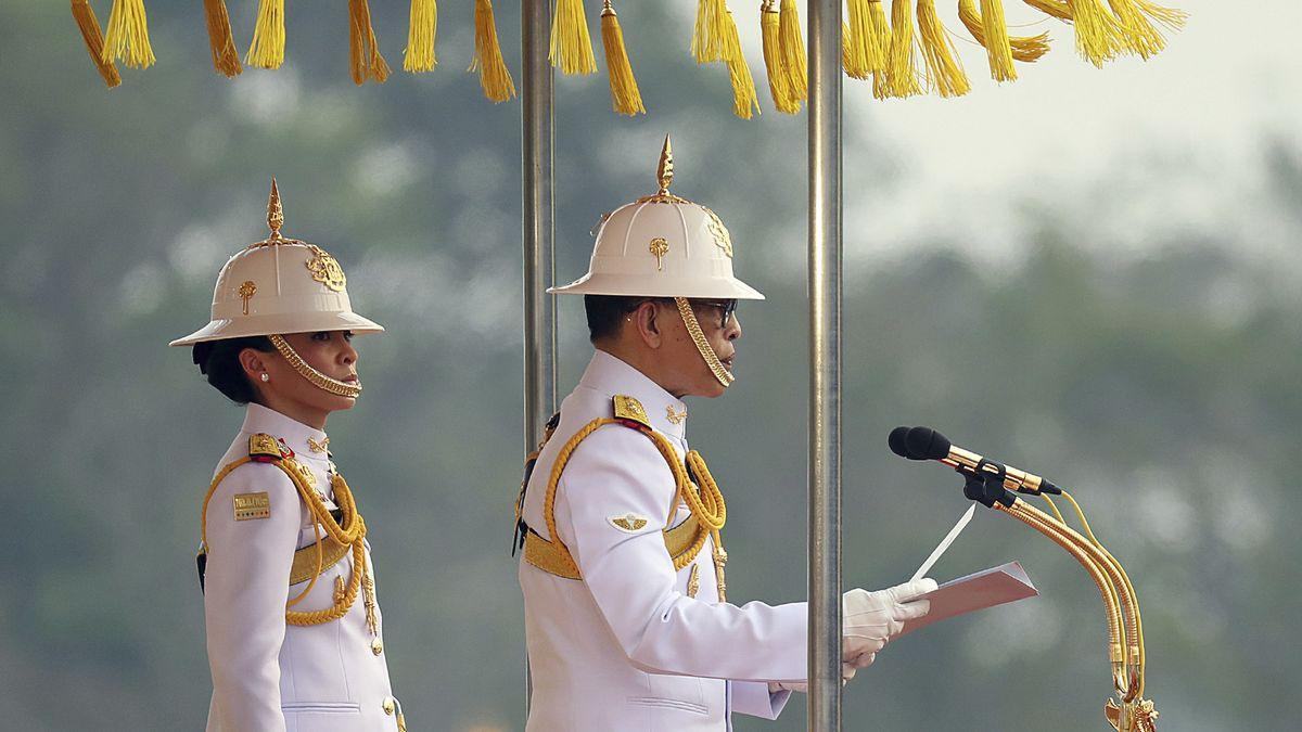 Das thailändische Königspaar Suthida und Maha Vajiralongkorn