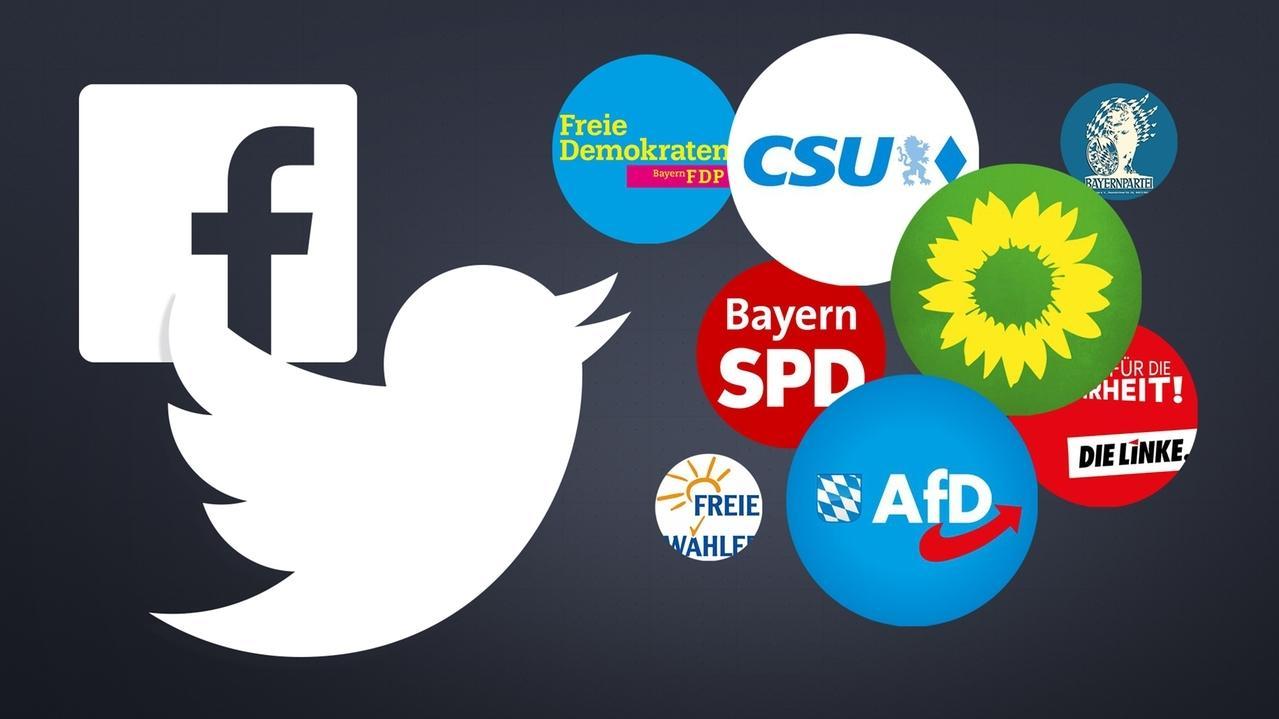 Wahlkampf 2.0 - Wie die bayerischen Parteien im Netz werben