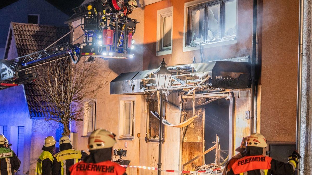 Feuerwehreinsatz in Auerbach