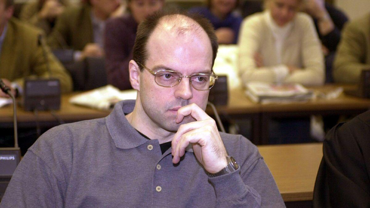 Archivbild: Prozess gegen Reemtsma-Entführer Thomas Drach am 21.12.2000 vor dem Hamburger Landgericht.