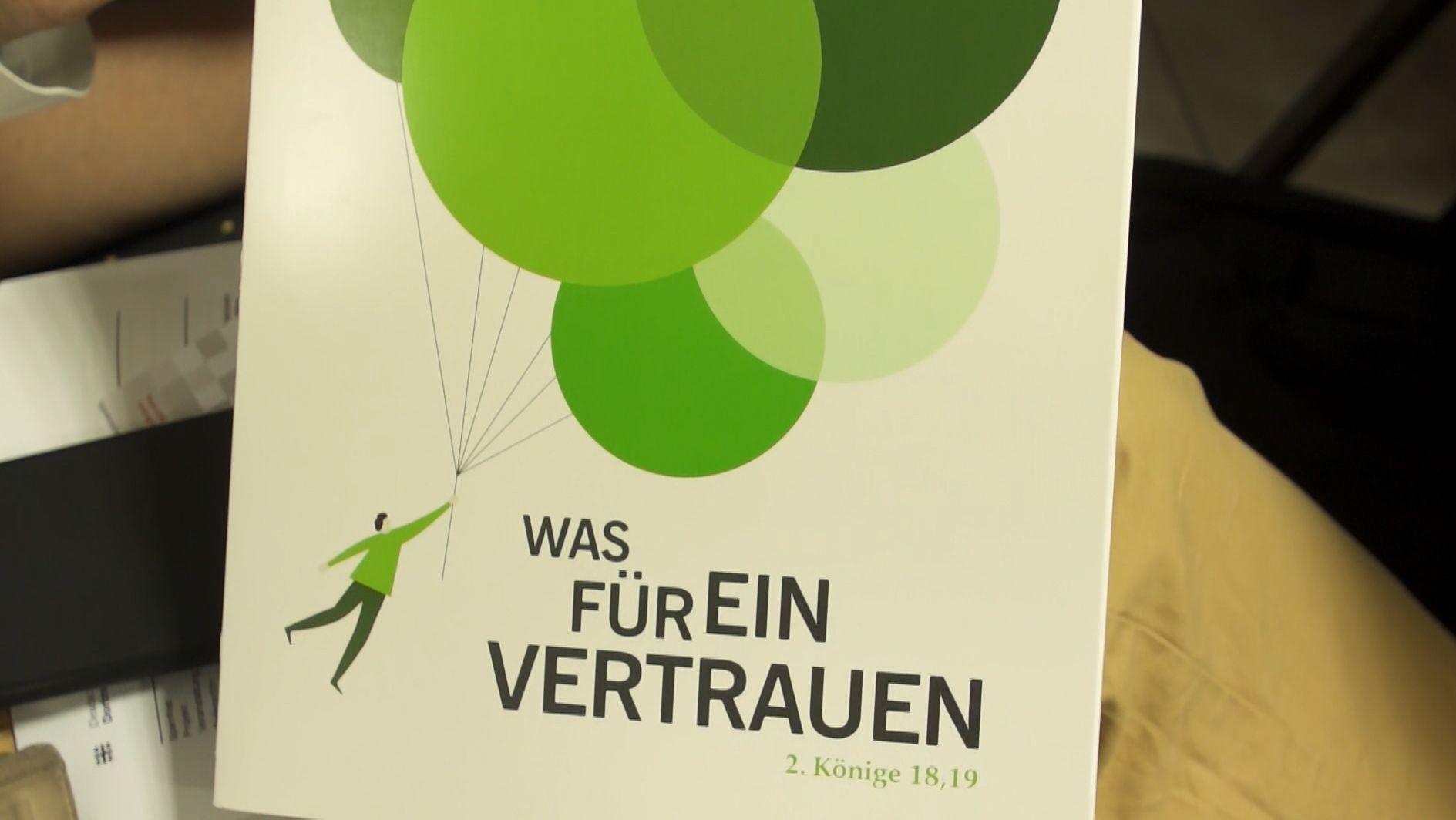 Der 37. Deutsche evangelische Kirchentag will ganz bewusst mit Mut in die Zukunft schauen.