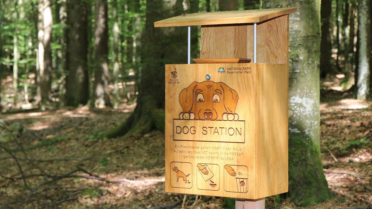 Eine Dog-Station