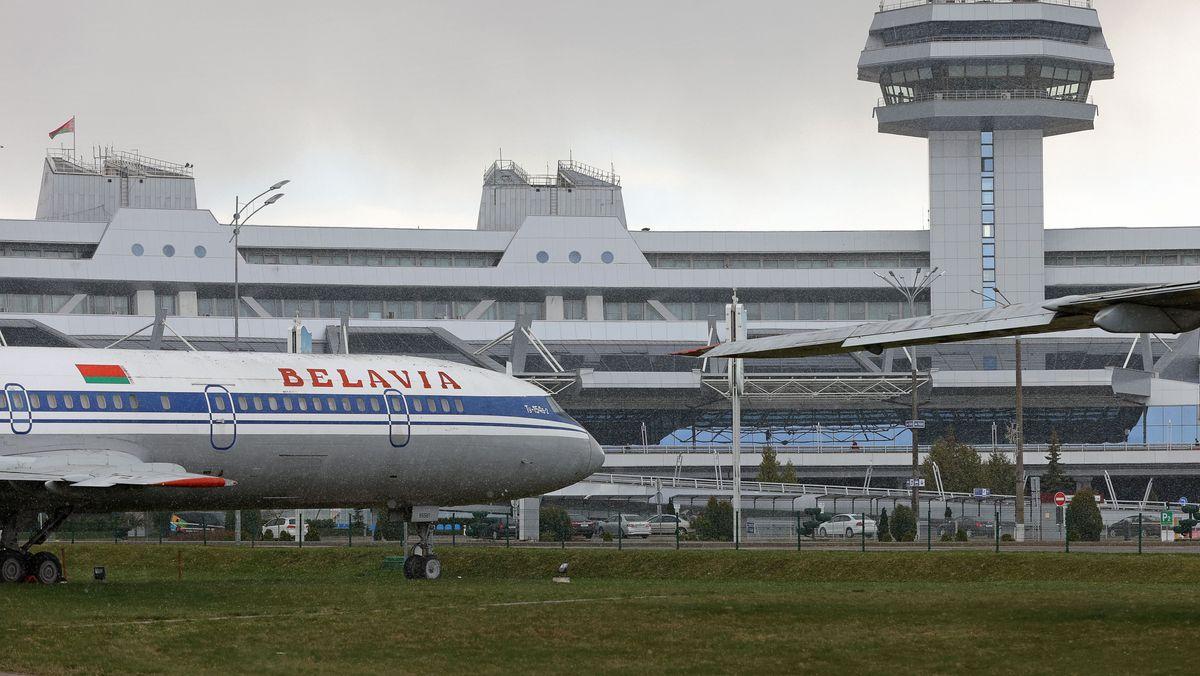 Ryan-Air-Maschine muss in Minsk notlanden