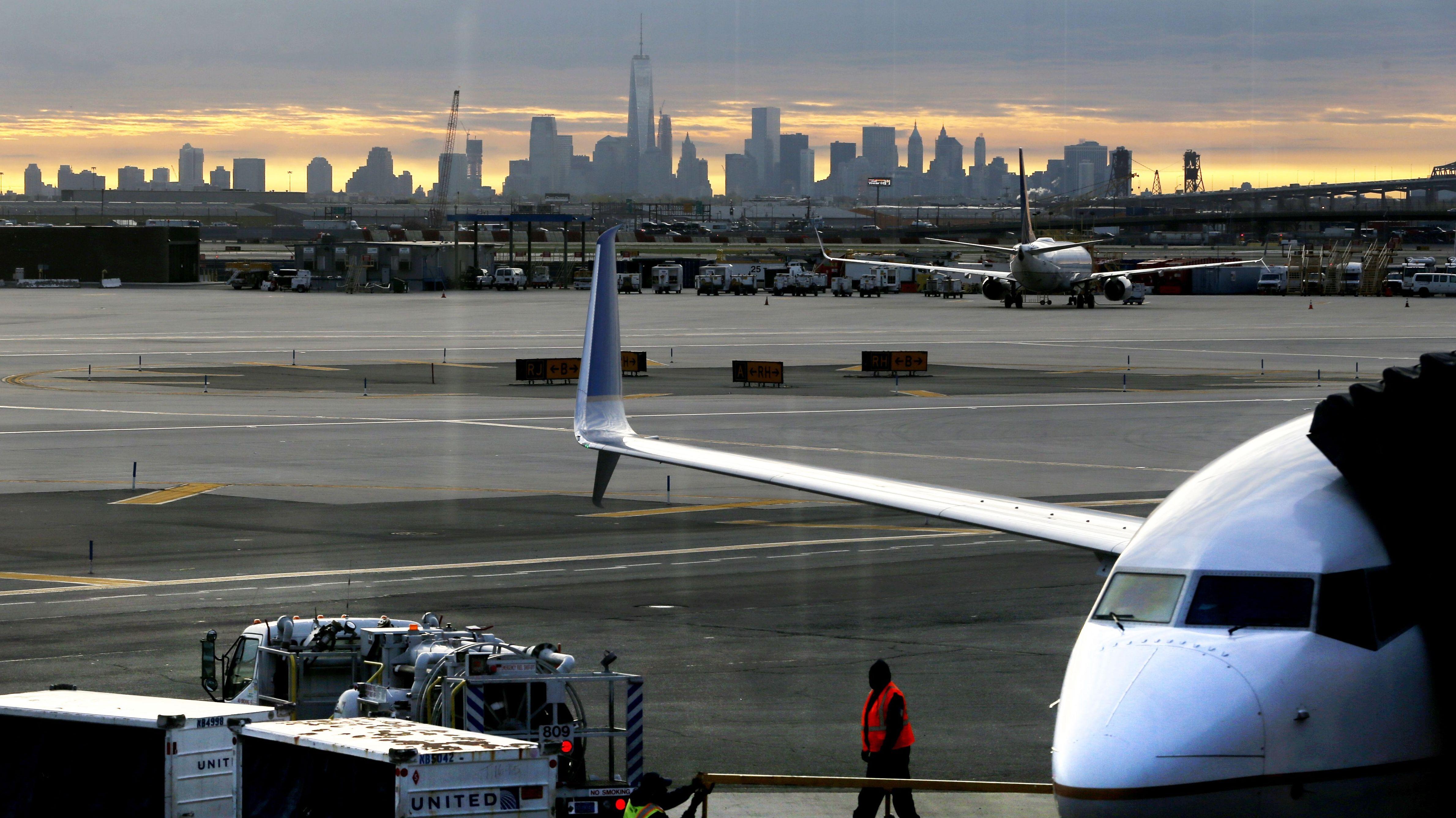 Der New Yorker Flughafen Newark
