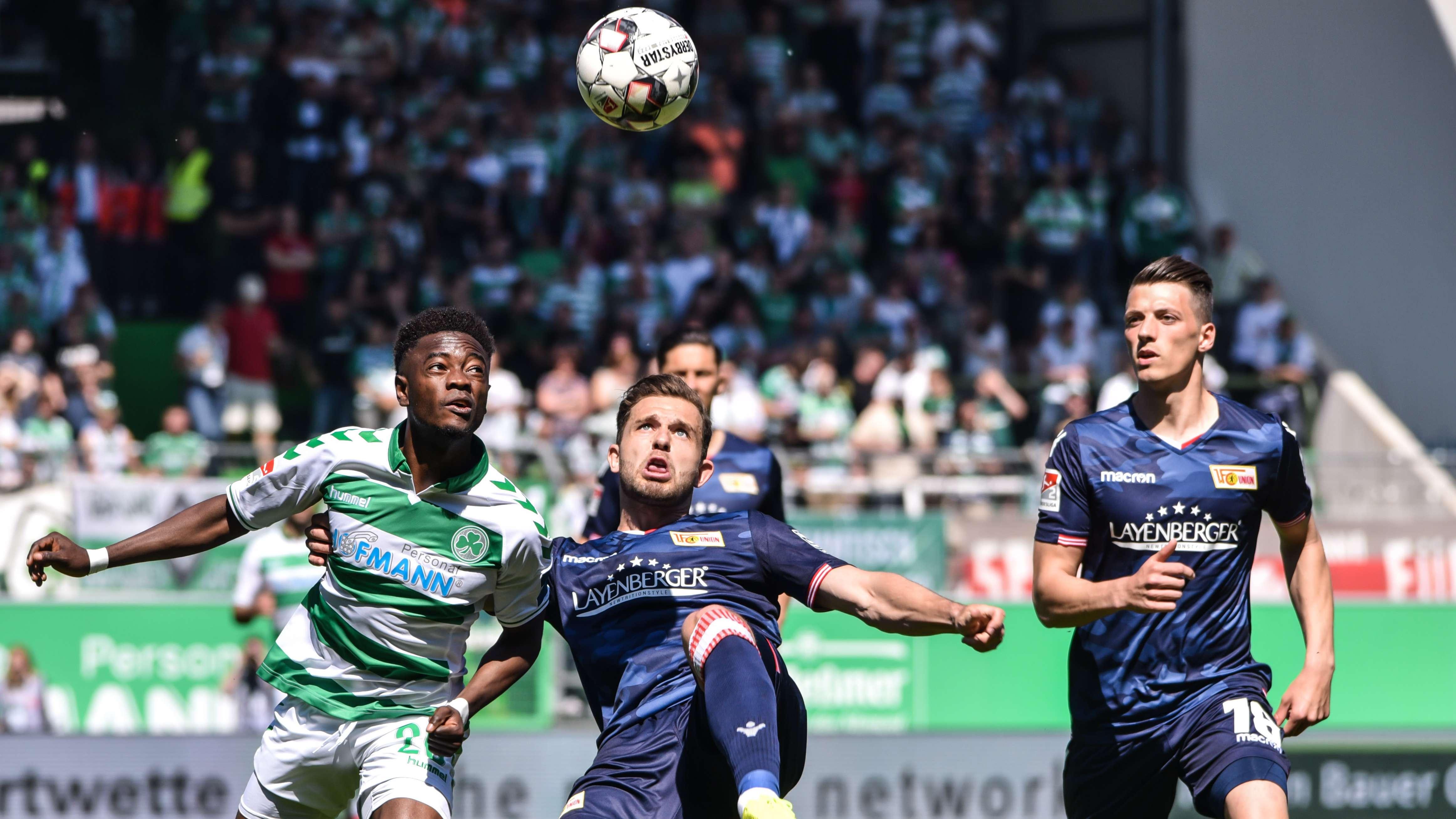 Spielszene SpVgg Greuther Fürth - Union Berlin
