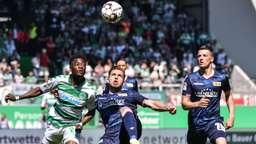 Spielszene SpVgg Greuther Fürth - Union Berlin   Bild:picture-alliance/dpa