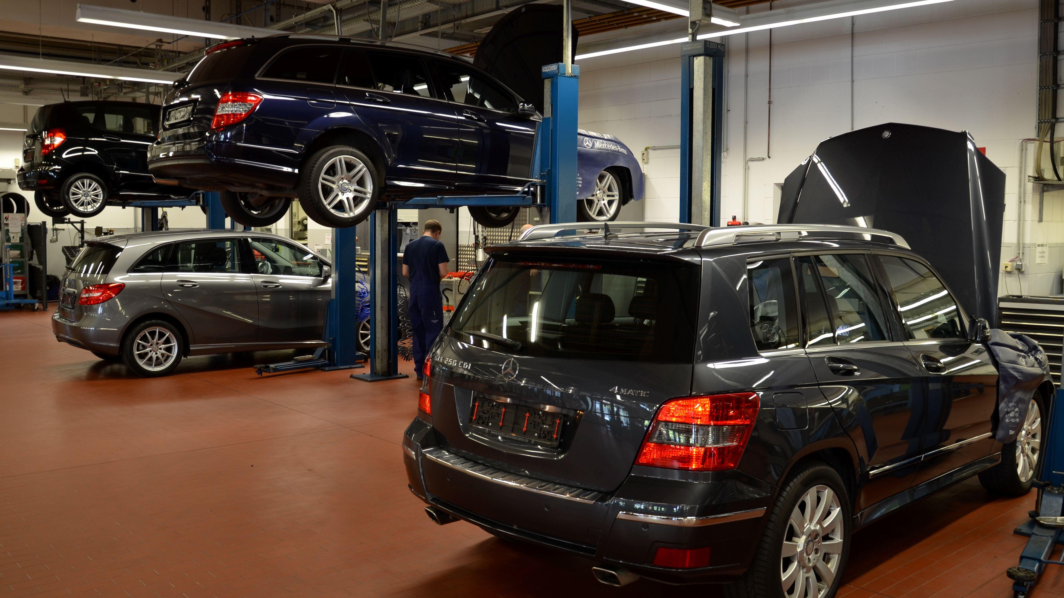 Symbolbild: Mercedes Werkstatt