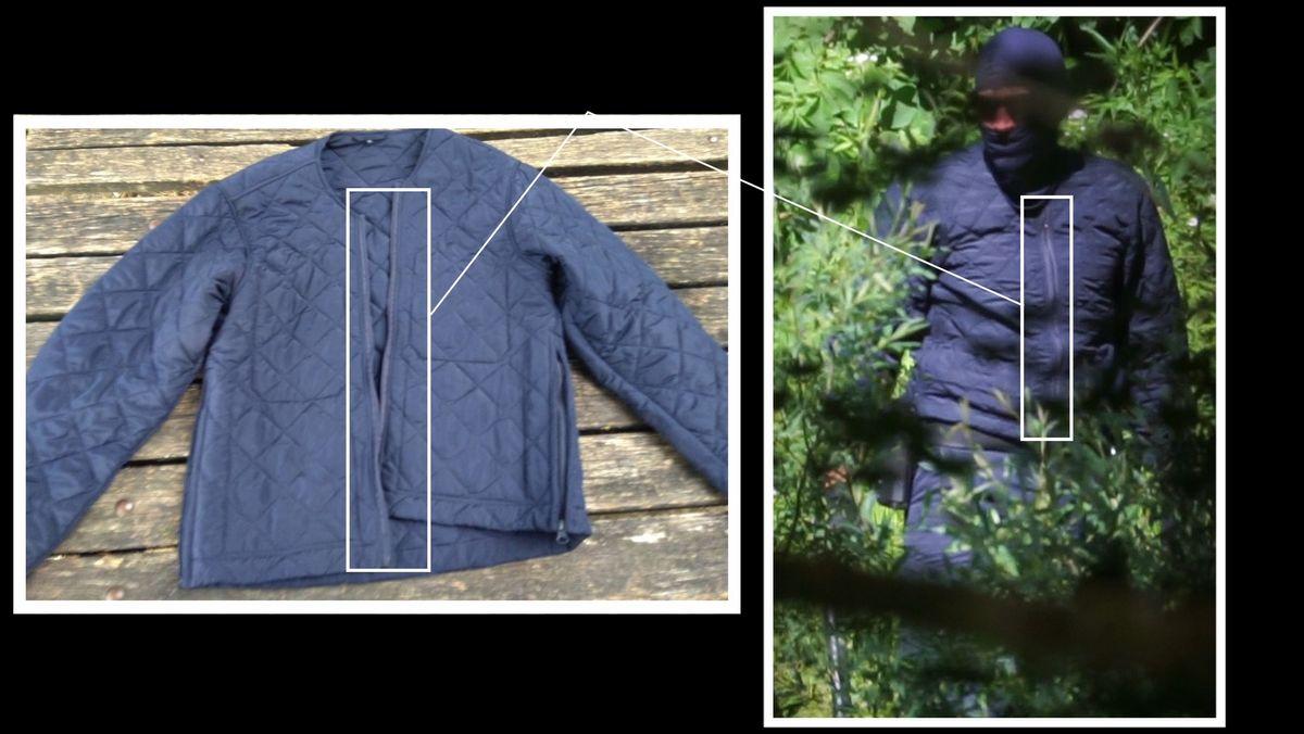 Der Rechercheverbund verglich eine offizielle kroatische Polizeijacke mit der auf dem Video. Beide Jacken sind identisch.