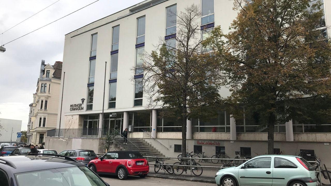 Das Peutinger Gymnasium in Augsburg