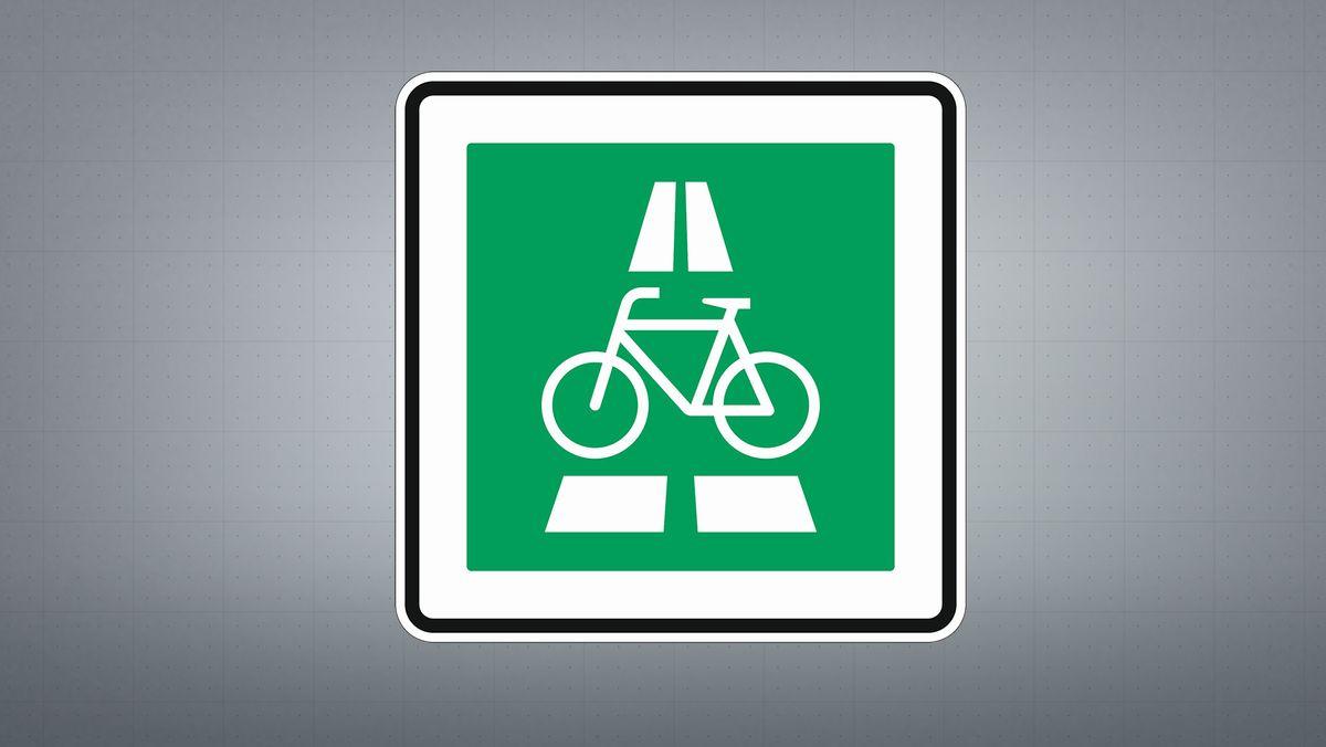 Radschnellweg.