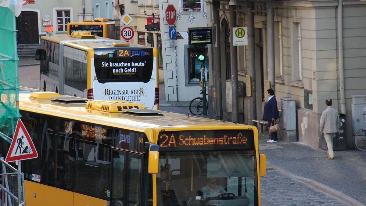 Stadtbus in Regensburg.