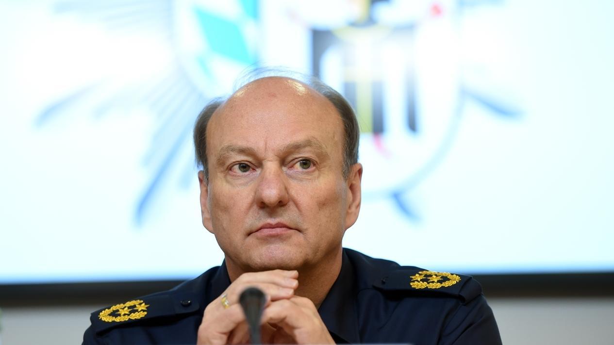 Münchens Polizeipräsident Hubertus Andrä