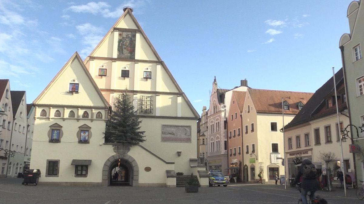 Das Alte Rathaus in Weiden.